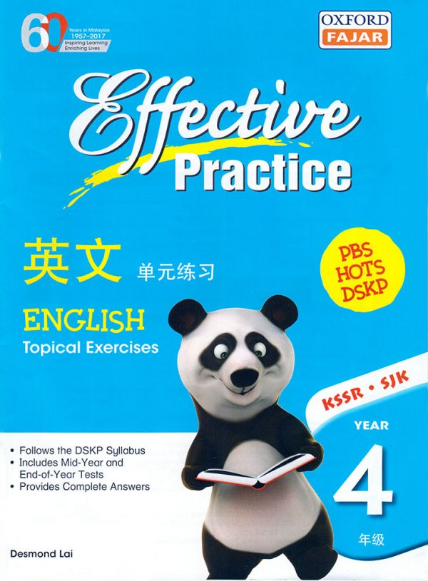 EFFECTIVE PRACTICE ENGLISH YEAR 4