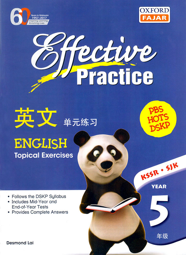 EFFECTIVE PRACTICE ENGLISH YEAR 5